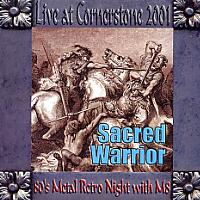 [Sacred Warrior CD COVER]